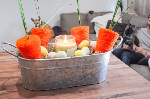 DIY Rustic Easter Centerpiece